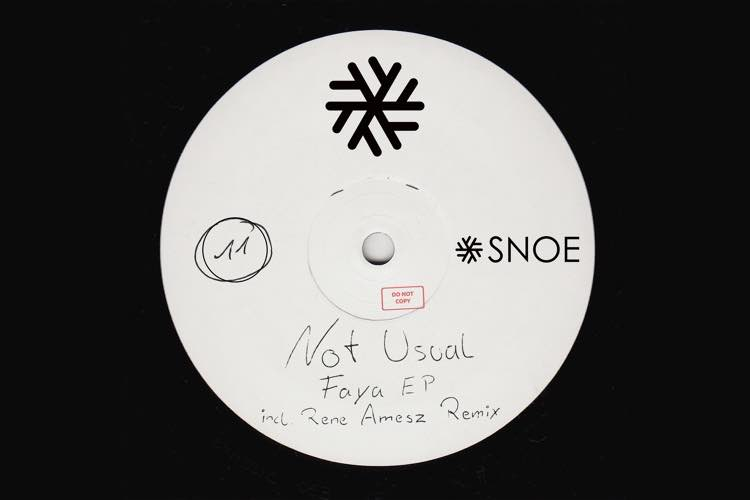 Faya EP - Not Usual