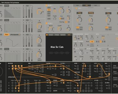Bengal - semimodularer Synth für Ableton live