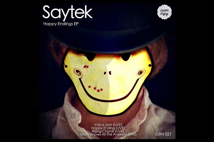 Happy Endings (live) EP - Saytek