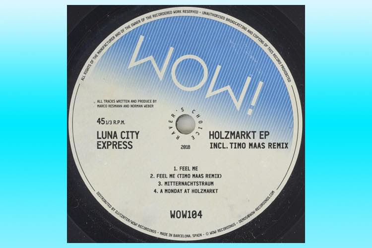 Holzmarkt EP - Luna City Express